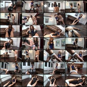 Cruel Ballbusting By Mistress Kira Female Domination
