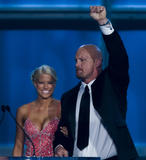 Barbie Blank: 2009 WWE Hall Of Fame Ceremony Candids [x 7]