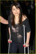 Miranda Cosgrove - Foo Fighters concert 10/13/11