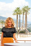 Becki Newton promotes Ugly Betty at the 2008 Monte Carlo Television Festival