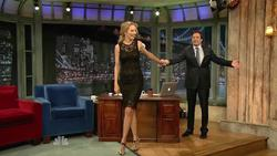 Uma Thurman - Jimmy Fallon, April 8_2011, 810p mp4 caps