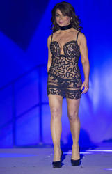 Paula Abdul - Rocks Lingerie On Stage At The Life Ball 2015 in Vienna - (5/16/15)