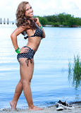 AJ & Kaitlyn {WWE Divas} Bikini Photo Shoot